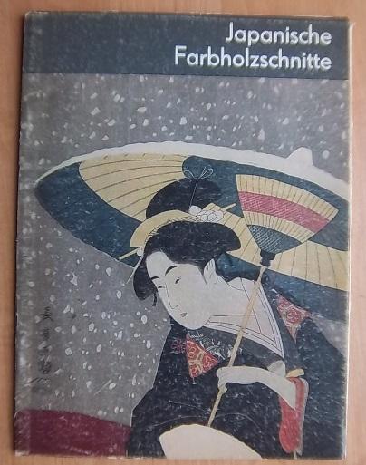 Japanische Farbholzschnitte/ Японские гравюры на дереве
