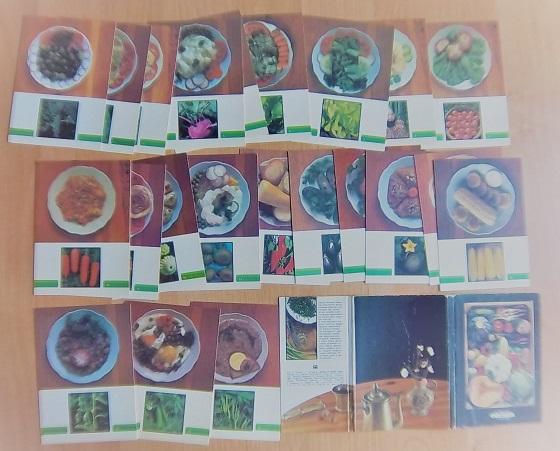 Комплект открыток «Овощи на вашем столе»