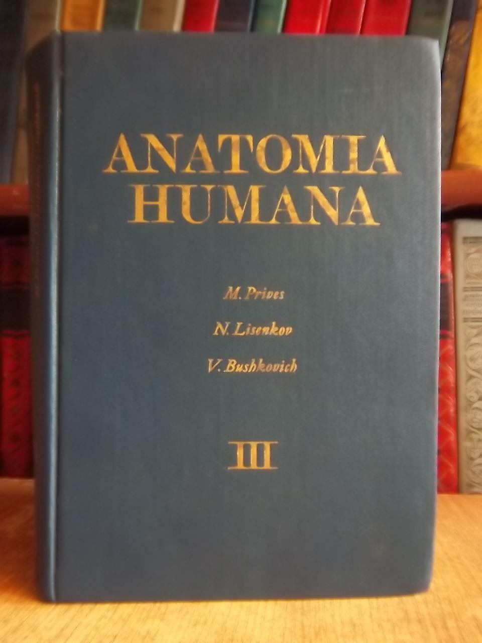 Anatomia humana Tom 3 (Esplacnologia organos de secrecion interna. Prives M., Lisenkov N., Bushkovich V.