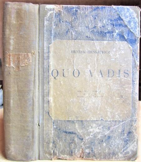 Quo vadis Powiesc z czasow Nerona
