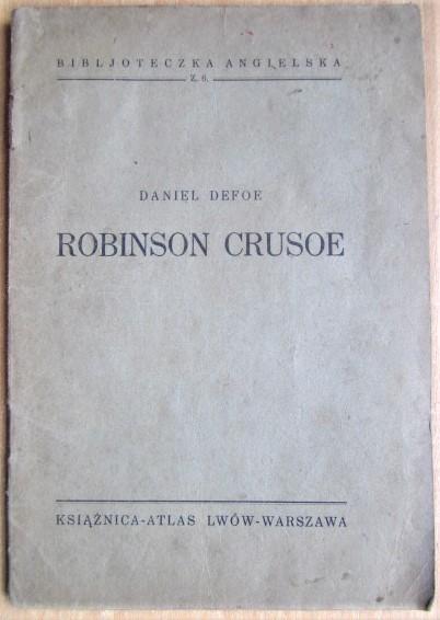 Robinson Crusoe Biblioteka angielska z 6