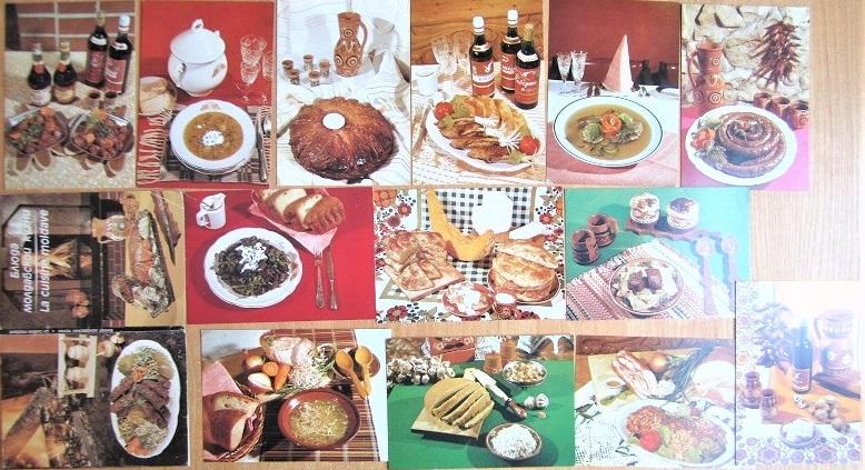 Комплект открыток «Блюда молдавской кухни»